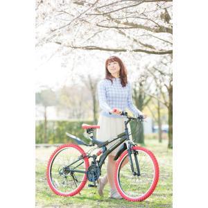 送料無料 マウンテンバイク 26インチ シマノ シマノ製18段ギア GRAPHIS グラフィス GR-005 (6色)  自転車 26インチ メンズ レディース 自転車 おしゃれ|smart-factory|18