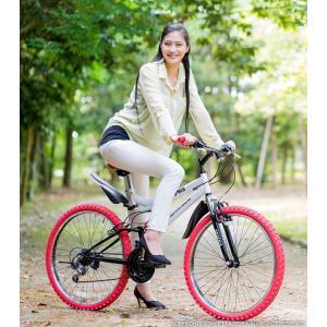 送料無料 マウンテンバイク 26インチ シマノ シマノ製18段ギア GRAPHIS グラフィス GR-005 (6色)  自転車 26インチ メンズ レディース 自転車 おしゃれ|smart-factory|20
