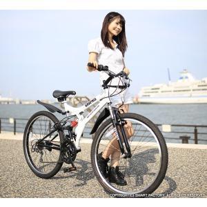送料無料 マウンテンバイク 26インチ シマノ シマノ製18段ギア GRAPHIS グラフィス GR-005 (6色)  自転車 26インチ メンズ レディース 自転車 おしゃれ|smart-factory|10