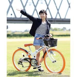 子供用自転車 平日限定 1500円クーポン 22 24 26インチ 6段ギア ライト 鍵 カゴ CIデッキ付 CTB 折りたたみ自転車|smart-factory|12