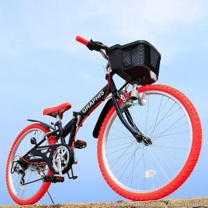 子供用自転車 平日限定 1500円クーポン 22 24 26インチ 6段ギア ライト 鍵 カゴ CIデッキ付 CTB 折りたたみ自転車|smart-factory|16