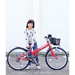 子供用自転車 平日限定 1500円クーポン 22 24 26インチ 6段ギア ライト 鍵 カゴ CIデッキ付 CTB 折りたたみ自転車|smart-factory|18