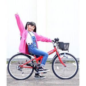 4日間限定1000円クーポン 子供自転車 22インチ 24インチ 26インチ 6段ギア ライト 鍵 前カゴ CIデッキ付 CTB 折りたたみ自転車 折畳 自転車 マウンテン 送料無料 smart-factory 21