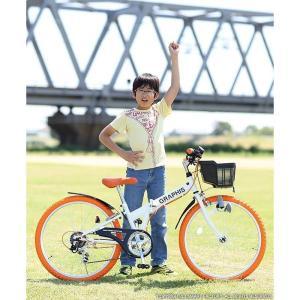 子供用自転車 平日限定 1500円クーポン 22 24 26インチ 6段ギア ライト 鍵 カゴ CIデッキ付 CTB 折りたたみ自転車|smart-factory|07
