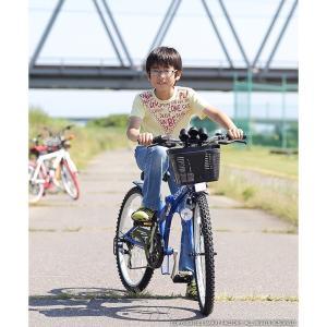 子供用自転車 平日限定 1500円クーポン 22 24 26インチ 6段ギア ライト 鍵 カゴ CIデッキ付 CTB 折りたたみ自転車|smart-factory|09