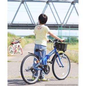 子供用自転車 平日限定 1500円クーポン 22 24 26インチ 6段ギア ライト 鍵 カゴ CIデッキ付 CTB 折りたたみ自転車|smart-factory|10