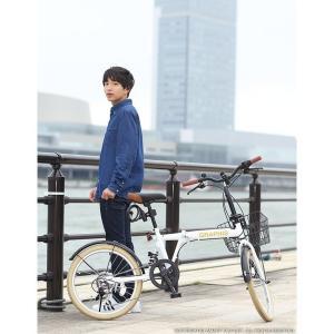 折りたたみ自転車 20インチ シマノ製6段ギア 15色 折り畳み自転車 折畳自転車 カゴ付き 小径車 ミニベロ 自転車 通販 おしゃれ 送料無料|smart-factory|13