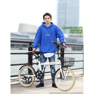折りたたみ自転車 20インチ シマノ製6段ギア 15色 折り畳み自転車 折畳自転車 カゴ付き 小径車 ミニベロ 自転車 通販 おしゃれ 送料無料|smart-factory|14