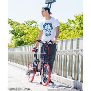 折りたたみ自転車 20インチ シマノ製6段ギア 15色 折り畳み自転車 折畳自転車 カゴ付き 小径車 ミニベロ 自転車 通販 おしゃれ 送料無料|smart-factory|15
