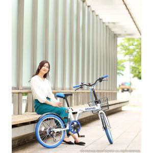 折りたたみ自転車 20インチ シマノ製6段ギア 15色 折り畳み自転車 折畳自転車 カゴ付き 小径車 ミニベロ 自転車 通販 おしゃれ 送料無料|smart-factory|09