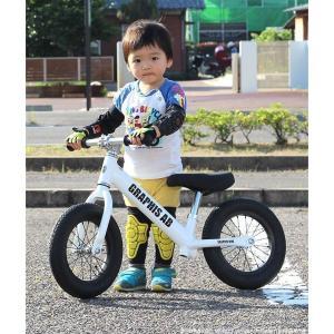 プロテクタープレゼント 幼児用ペダルなし自転車 子供用自転車 12インチ アルミフレーム 3色 GRAPHIS GR-AB smart-factory 16