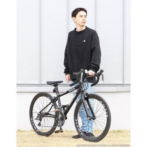 ジュニアロードバイク 週末価格 24インチ 2x8段変速 シマノ クラリス アルミフレーム 子供用 女性向け GRAPHIS|smart-factory|11