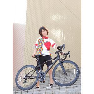 ジュニアロードバイク 週末価格 24インチ 2x8段変速 シマノ クラリス アルミフレーム 子供用 女性向け GRAPHIS|smart-factory|17