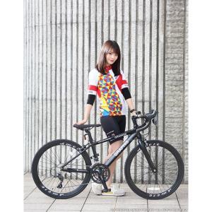 ジュニアロードバイク 週末価格 24インチ 2x8段変速 シマノ クラリス アルミフレーム 子供用 女性向け GRAPHIS|smart-factory|07