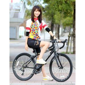 ジュニアロードバイク 週末価格 24インチ 2x8段変速 シマノ クラリス アルミフレーム 子供用 女性向け GRAPHIS|smart-factory|09