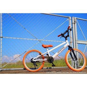 子供用自転車 平日限定2000円クーポン 20インチ BMX タイプ 4色 子供自転車 男の子 子供 幼児 キッズ ストリート 街乗り おしゃれ|smart-factory|06