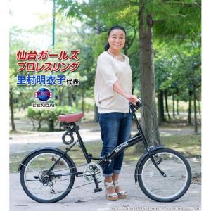 送料無料 折りたたみ自転車 20インチ シマノ製6段ギア 折畳み自転車 折畳自転車 自転車 鍵 ライト 折りたたみカゴ 小径車 ミニベロ 自転車 おしゃれ|smart-factory|11