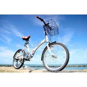 送料無料 折りたたみ自転車 20インチ シマノ製6段ギア 折畳み自転車 折畳自転車 自転車 鍵 ライト 折りたたみカゴ 小径車 ミニベロ 自転車 おしゃれ|smart-factory|15