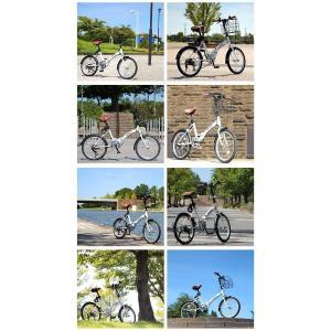 送料無料 折りたたみ自転車 20インチ シマノ製6段ギア 折畳み自転車 折畳自転車 自転車 鍵 ライト 折りたたみカゴ 小径車 ミニベロ 自転車 おしゃれ|smart-factory|18