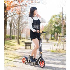 キックボード 平日限定2000円クーポン 8インチ 2色 キックスクーター 折りたたみ 大人用 子供用 GRAPHIS GR-K グラフィス|smart-factory|18
