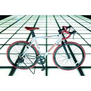 ロードバイク 700c SHIMANO シマノ製14段ギア 700×26C ロードレーサー GR-Tiamo|smart-factory|09