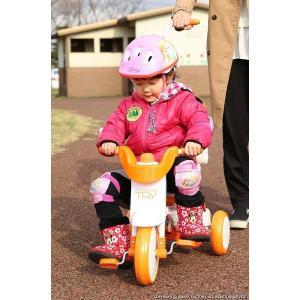 三輪車 平日限定1500円クーポン 幼児用自転車 1歳 2歳 3歳 子供 3色 折りたたみ三輪車 かじとり 押棒 GRAPHIS GR-TRY|smart-factory|11