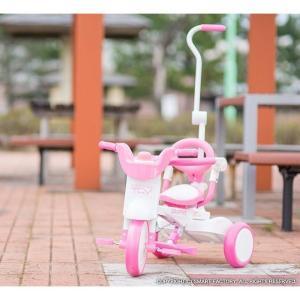 三輪車 平日限定1500円クーポン 幼児用自転車 1歳 2歳 3歳 子供 3色 折りたたみ三輪車 かじとり 押棒 GRAPHIS GR-TRY|smart-factory|08