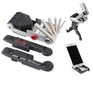 自転車 携帯ツール ペダルスタンド機能付き 携帯工具 HPS-9 ミノウラ MINOURA|smart-factory