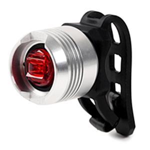 送料無料 自転車 ライト セーフティーライト リアライト 1LED テールライト 3006R シルバー|smart-factory