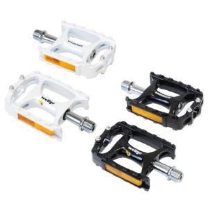 自転車 ペダル Wellgo ウェルゴ M138 CROSS/MTBペダル ブラック ホワイト パーツ ペダル 即日発送|smart-factory