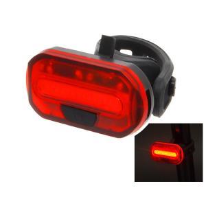 送料無料  自転車 セーフティライト テールライト リアライト 赤色LED 防水 明るい Palmy Sports PS-6068R LEDリアライト|smart-factory