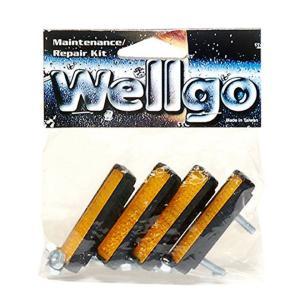 自転車 ペダル リフレクター 反射板 オレンジ 4個入り Wellgo ウェルゴ RR-1 CATEYE|smart-factory