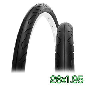 自転車 タイヤ 26インチ 26x1.95 HE 1本 スリックタイヤ SR064 シンコー SHINKO|smart-factory