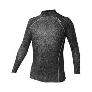 日本郵便送料無料 ホットウェア BT パワーストレッチ ハイネックシャツ 防寒 迷彩柄 メンズ マラソン ジョギング ゴルフ 自転車 スポーツ おたふく手袋|smart-factory