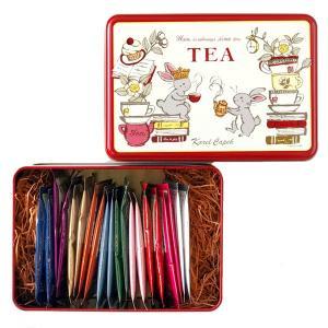 【食品/ポイント10倍】 厳選紅茶と温かみのあるデザインは、贈り物にはもちろん、改まった場面にもぴっ...