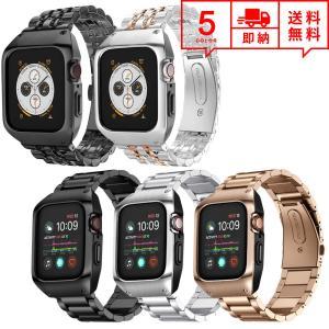 即納 Apple Watch アップルウォッチ SE/6/5/4 44mm ベルト バンド 一体型 ...