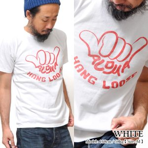 Tシャツ 日本製 クリックポストで送料無料 丈夫 smart spice hang loose wh...
