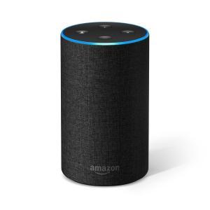 Amazon Echo (第2世代) アマゾン エコー チャコール (ファブリック) スマートスピー...