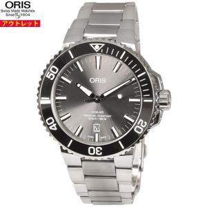 アウトレット! ORIS オリス 腕時計 73377307153M アクイス チタニウム デイト 4...