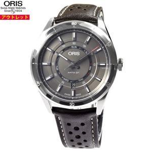 アウトレット! オリス 腕時計 735 7751 4153F アーティックス GT デイデイト GT...