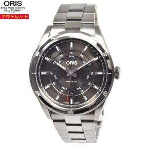 アウトレット!オリス 腕時計 735 7751 4153M アーティックス GT デイデイト GTモ...