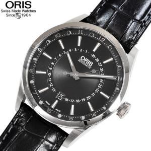 オリス 腕時計 761 7691 4054D アーティックス ポインタームーン 自動巻き 42mm