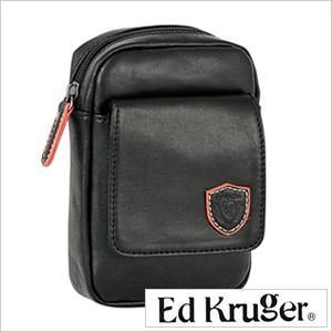 ベルトポーチ ED KURUGER エドクルーガー ポーチ ブラック メンズ 紳士用 カバン かばん 鞄 バッグ|smartbiz