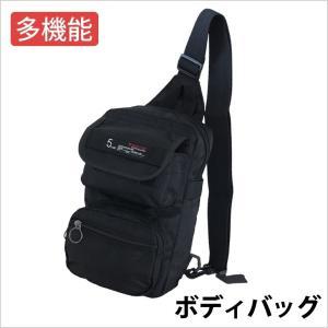 ボディバッグ カジュアルバッグ バッグ 紳士鞄 メンズ レディース ショルダー 多機能 ブラック 黒|smartbiz