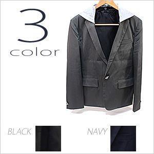 テーラードジャケット ノッチドラペル メンズ 紳士用 ジャケット ブラック 黒 ネイビー|smartbiz