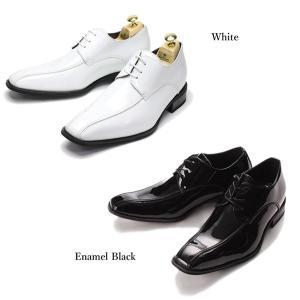 レースアップ 7cmUP シークレットシューズ 外羽根 メンズ 紳士用 レースアップ ブラック 黒 ホワイト 白|smartbiz|03
