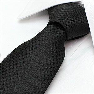 ネクタイ レギュラーネクタイ ナロータイ 選べる ブラック 織り柄|smartbiz