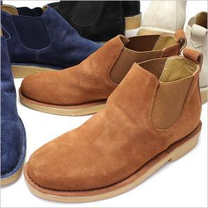 本革カジュアルシューズ ANTIBA カジュアルシューズ アンチバ 靴 メンズ AN9400 スエード 本革 ブーツ メンズ ベロア ショートブーツ サイドゴアブーツ|smartbiz