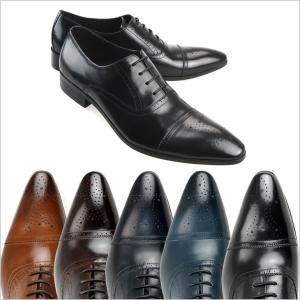 レースアップシューズ LUCIUS ルシウス 革靴 ビジネスシューズ 紳士靴 メンズ 男性用 内羽根 レザー 本革 3E EEE ウイングチップ ロングノーズ|smartbiz