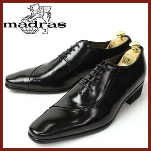 madras マドラス ビジネスシューズ 靴 メンズ 男性 紳士靴 レザー 本革 4cmヒール 革靴 マドラス 牛革 トラサルディ 3E ドレスシューズ|smartbiz